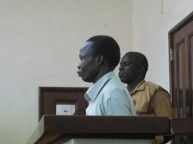 Col. Thomas Kwoyelo makes his first public appearance before the ICD in Gulu