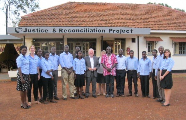 JRP Staff with the Ambassador of Norway during a January 2011 visit to JRP