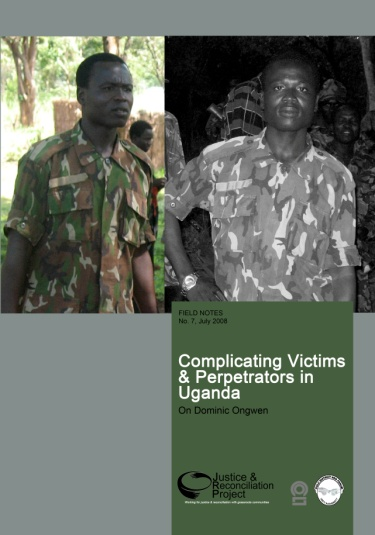 Two photos of Dominic Ongwen
