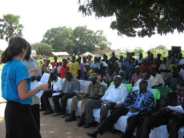 JRP delivers key remarks for Peace Day in Yumbe