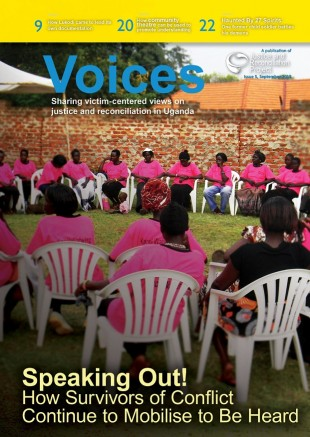 Voices Issue 5, September 2013 - Victim participation in transitional justice